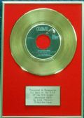 Elvis Presley - 24 Carat Gold 7 inch Disc - Jailhouse Rock (For USA Sales) …